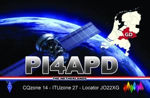 Qsl kaart afdeling Apeldoorn